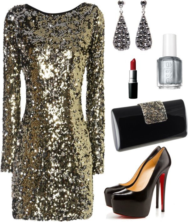 Chic Holiday Outfit Idea