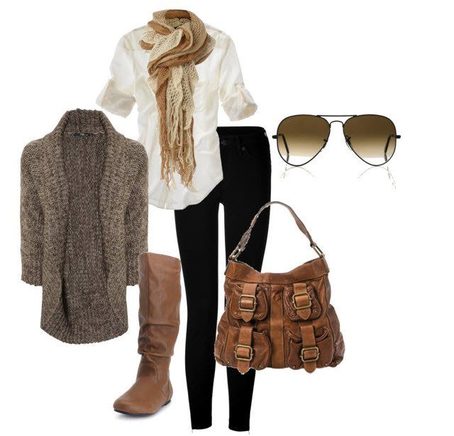 Comfortable Winter Outfit Idea