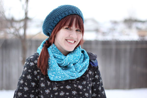 Cute Infinity Scarf Tutorial