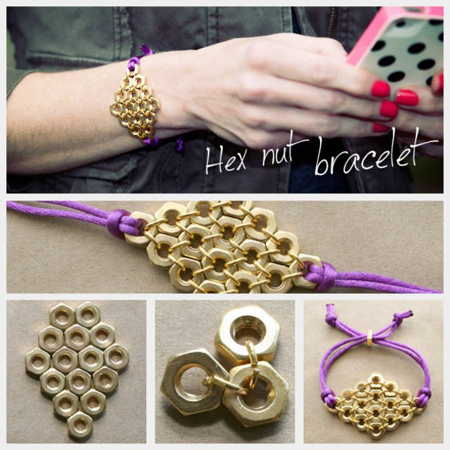 DIY Golden Bracelet Tutorial