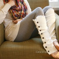 DIY Leg Warmers Tutorial