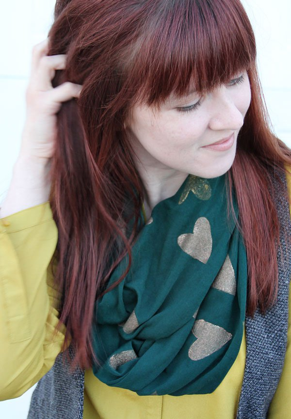DIY Printed Scarf Tutorial