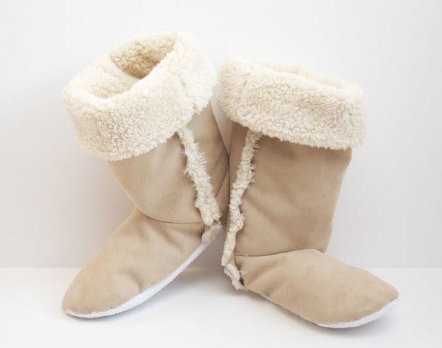 DIY Sherpa Boots Tutorial