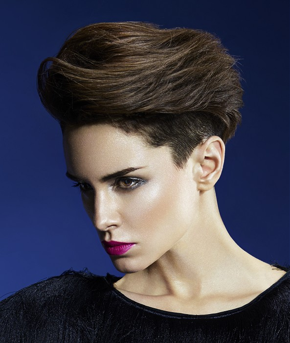 Edgy Chic Short Straight Hair Cut