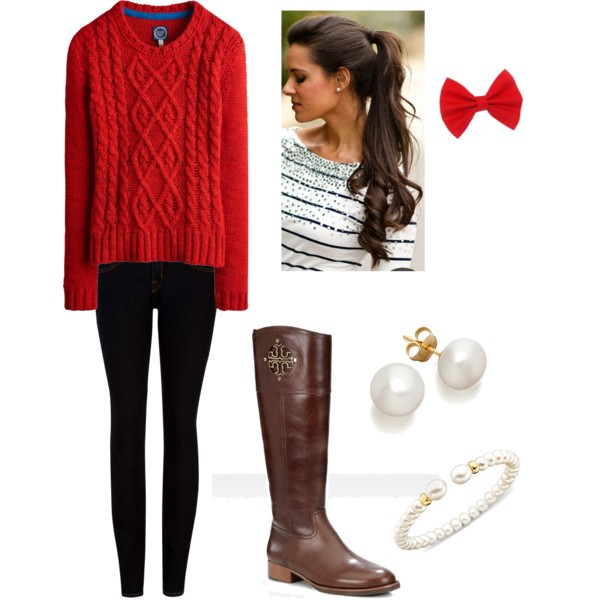 Lovely Outfit Idea for Early Spring