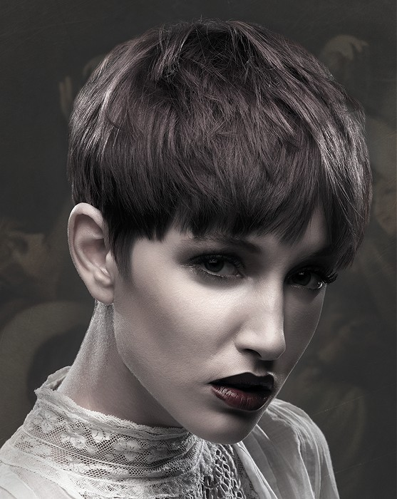 Lovely Short Straight Haircut