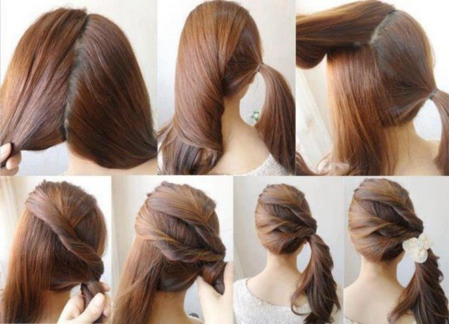 Lovely Side Ponytail Hairstyle Tutorial