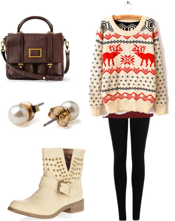 Lovely Winter Outfit Idea