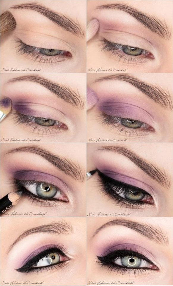 Perfect Light Purple Makeup Tutorial