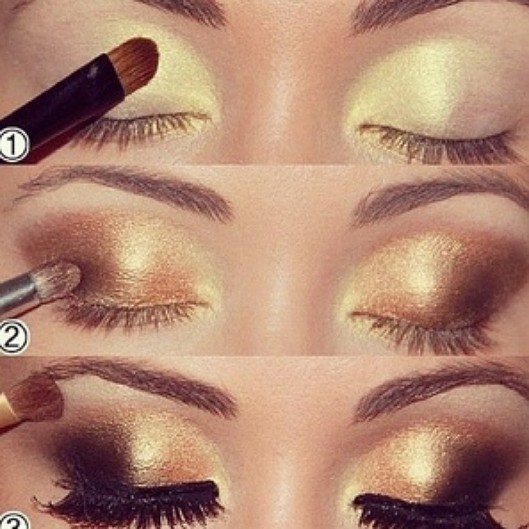 pics Fashionable Party Eye Makeup Tutorials for 2015
