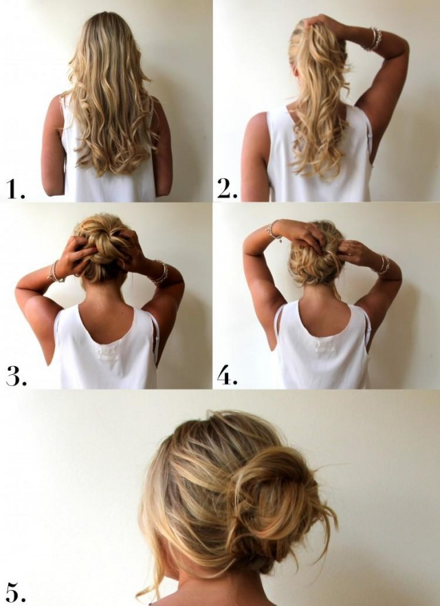 Perfect Messy Bun Hairstyle Tutorial