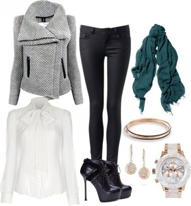 Polyvore Outfit Idea For Winter 2015 Styles Weekly