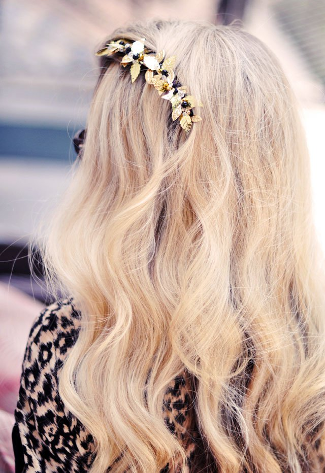 Pretty DIY Hair Piece