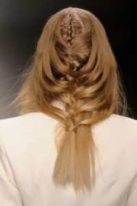 2015 Pretty Braided Hairstyle