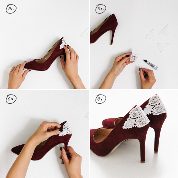Pretty DIY Pumps