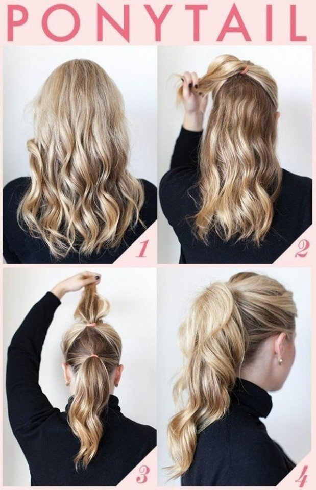 Pretty Ponytail Hairstyle Tutorial