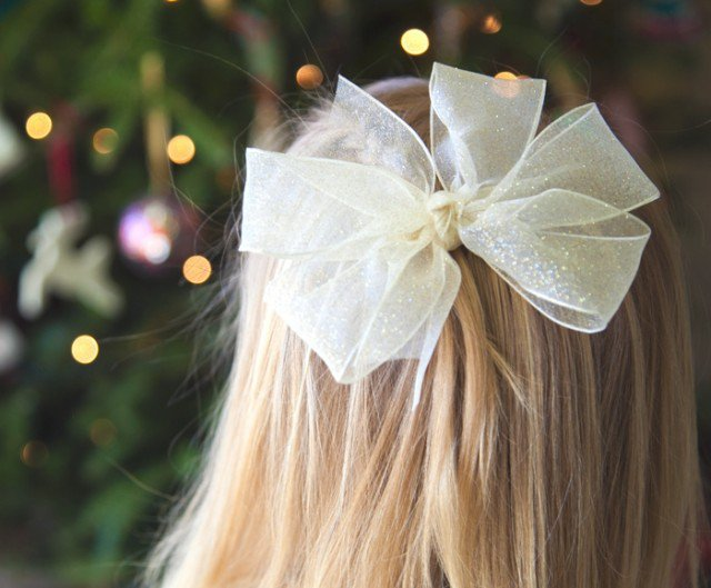 Princess Hair Bow Tutorial