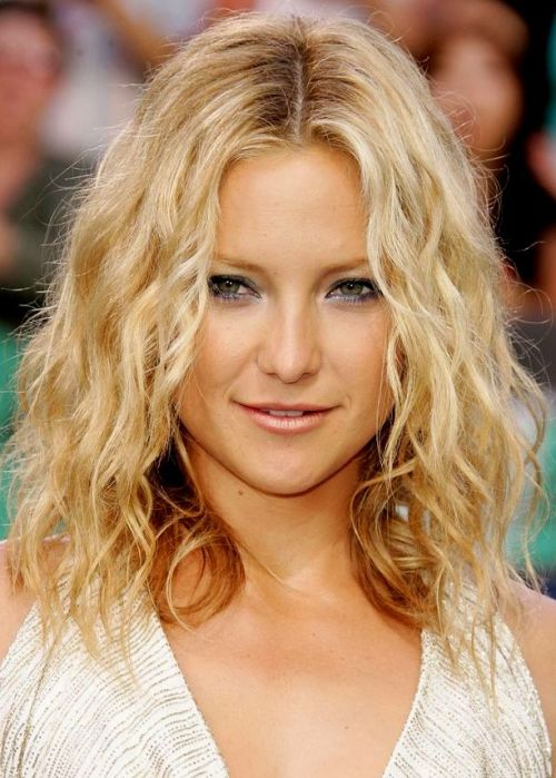 Shoulder-length Beach Waves