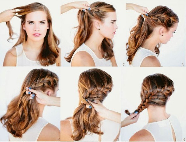 14 pretty hairstyle tutorials for 2015 styles weekly. Black Bedroom Furniture Sets. Home Design Ideas