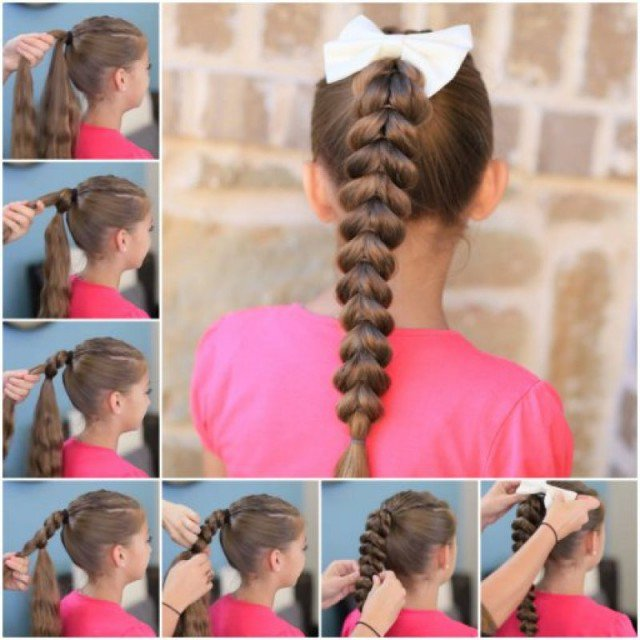 Simple Braided Hairstyle