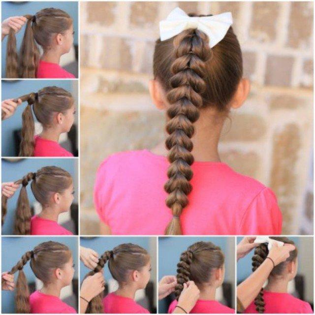 Pleasing Simple Braid Hairstyles Step By Braids Short Hairstyles Gunalazisus