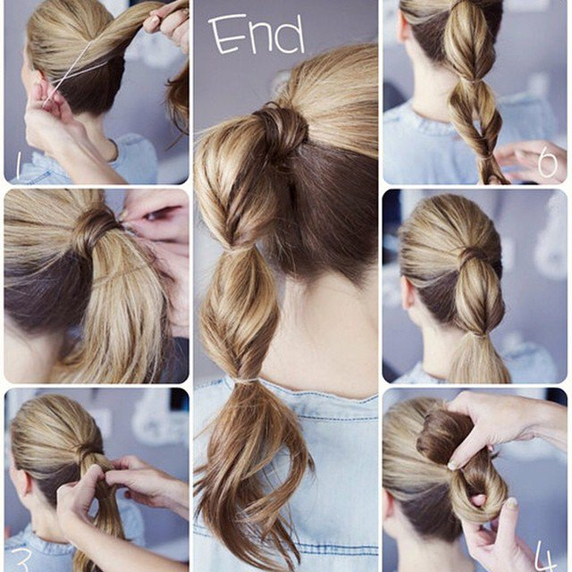 Simple Ponytail Hairstyle Tutorial