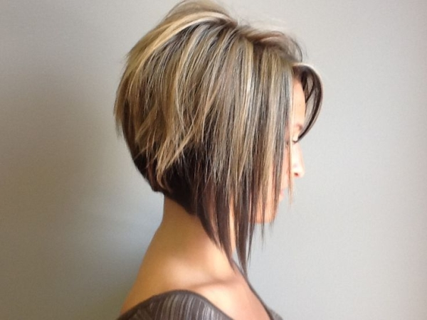 Stacked Bob Hairstyles 2015