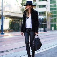 Stylish Black Outfit Idea