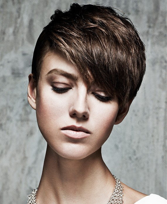 Stylish Short Hairstyle for 2015