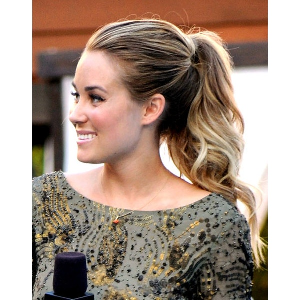 Textured High Ponytail