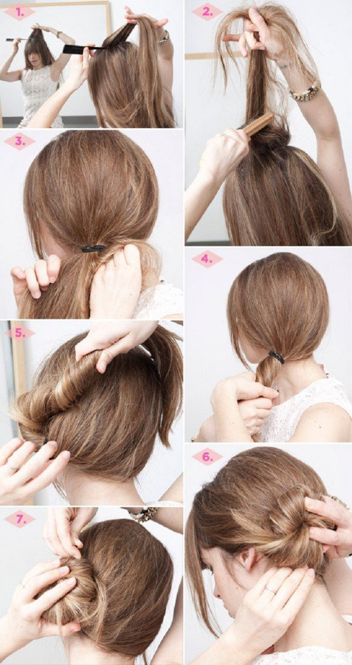 Twisted Low Bun Tutorial