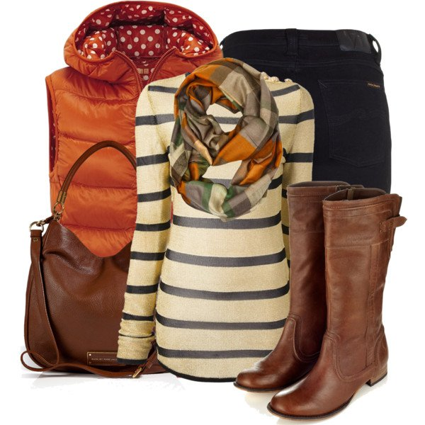 Chic Brown Outfit Idea for Winter