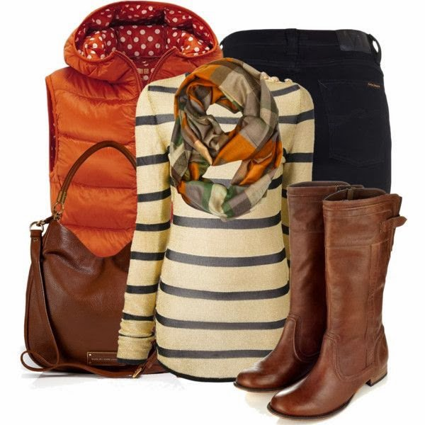 Warm Winter Outfit Idea