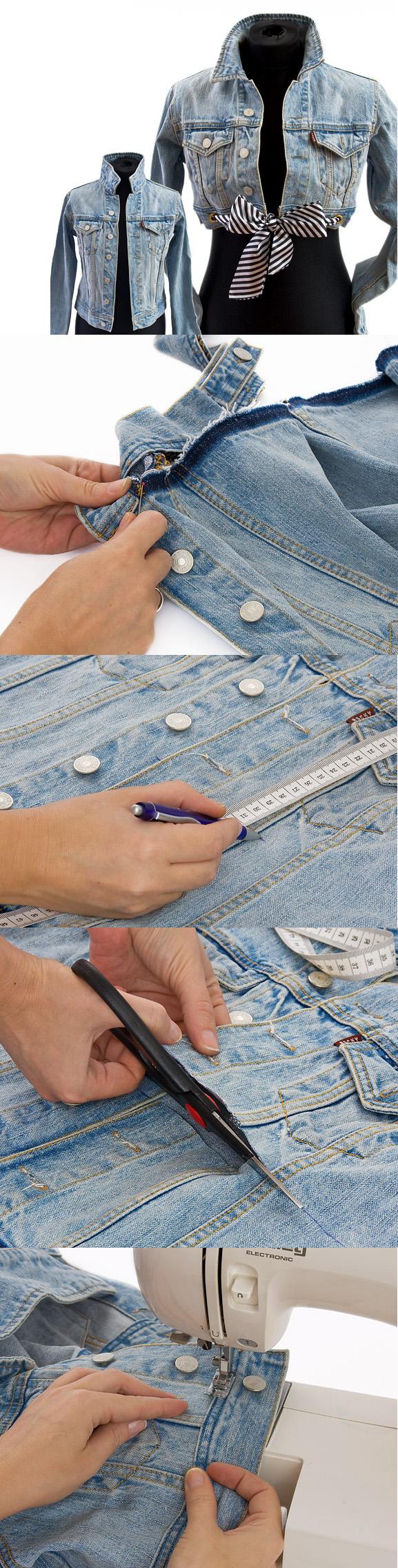 Clothing Tutorials DIY jacket