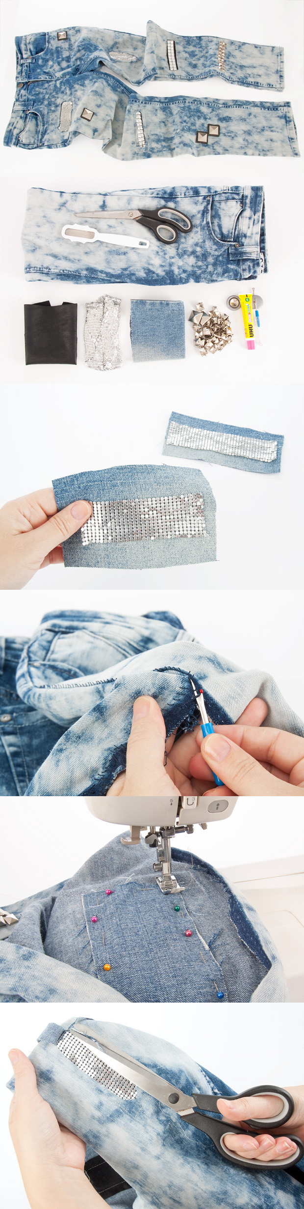 Clothing Tutorials DIY jeans