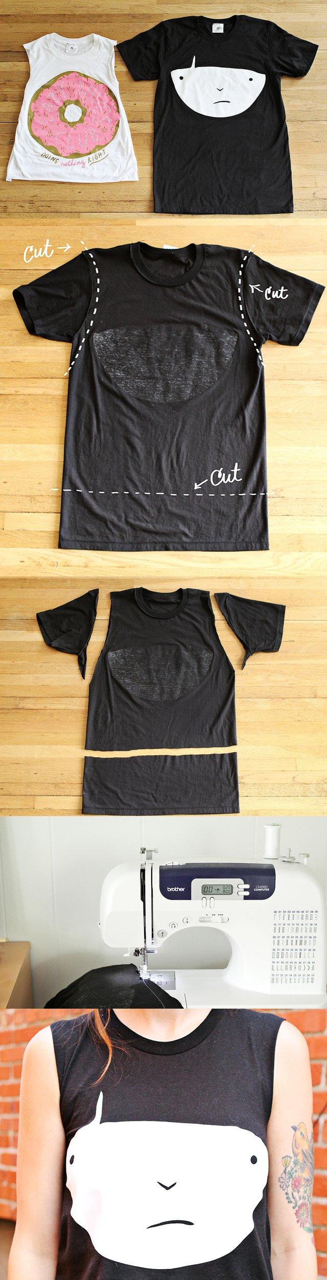 Clothing Tutorials DIY t-shirt