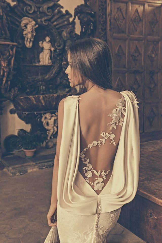 2015 Classy Wedding Dress by Julia Kontogruni