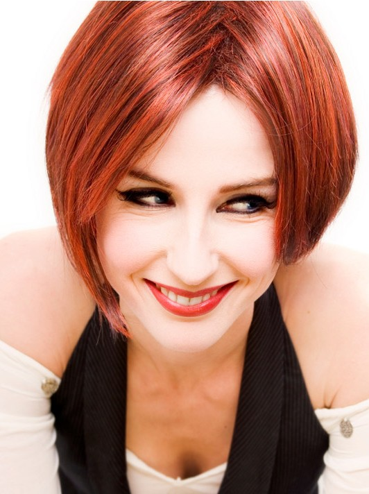 30 Short Hairstyles for Women: Red Hair Trends
