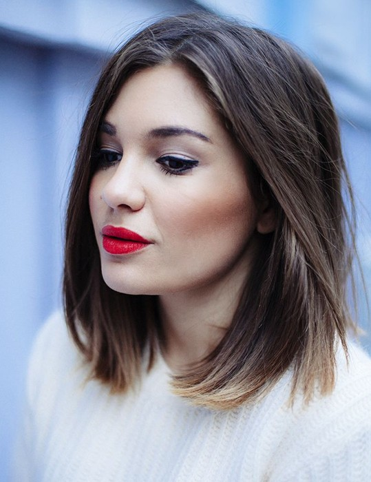 30-Short-Hairstyles-for-Winter-Straight-Bob-Hair | Styles Weekly