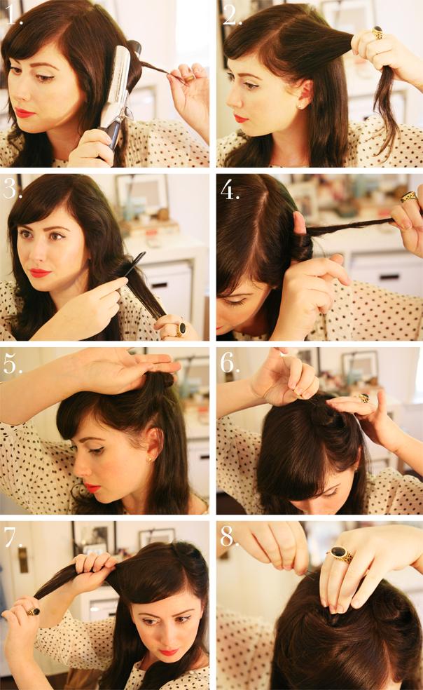 Wondrous 32 Vintage Hairstyle Tutorials You Should Not Miss Styles Weekly Short Hairstyles Gunalazisus