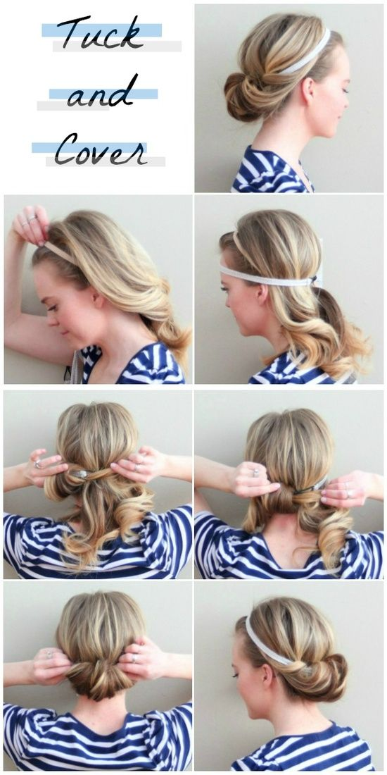 5 minutes hairstyles for women