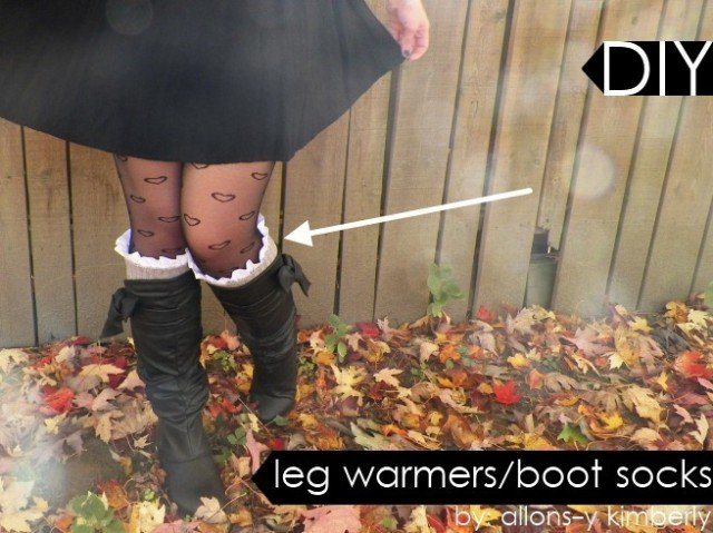 Adorable Leg Warmer Tutorial