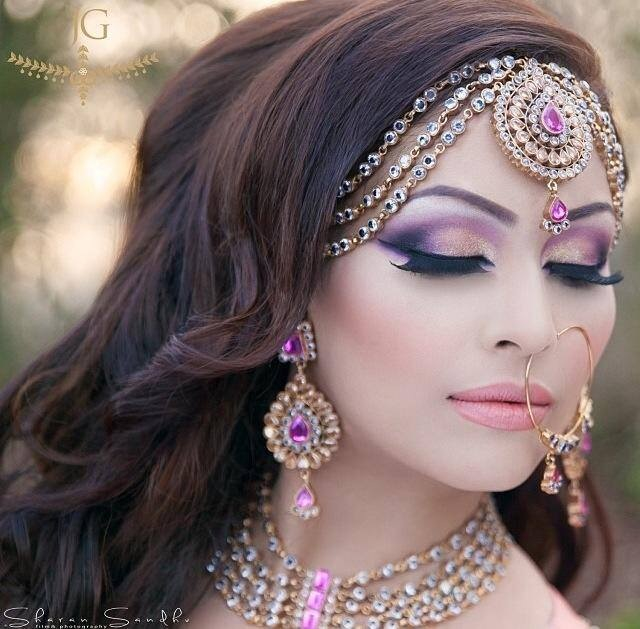 Beautiful Purple Makeup Idea For Brides Styles Weekly
