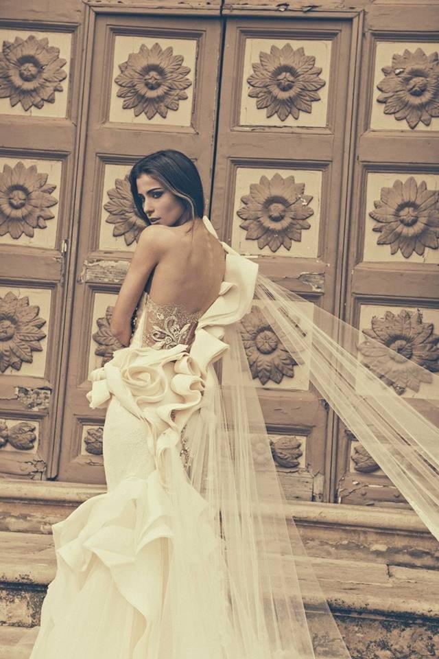 Beautiful Wedding Dress by Julia Kontogruni