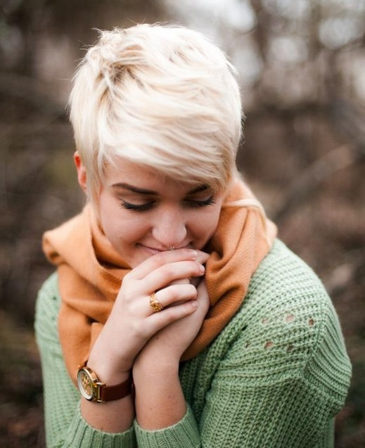 Boyish Short Haircut for Women
