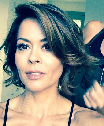 Brooke Burke-Charvet Blow-out Bob