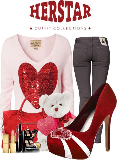 Casual Valentine's Outfit Idea