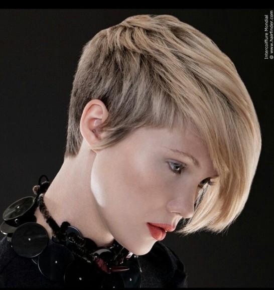 Chic Asymmetric Short Haircut