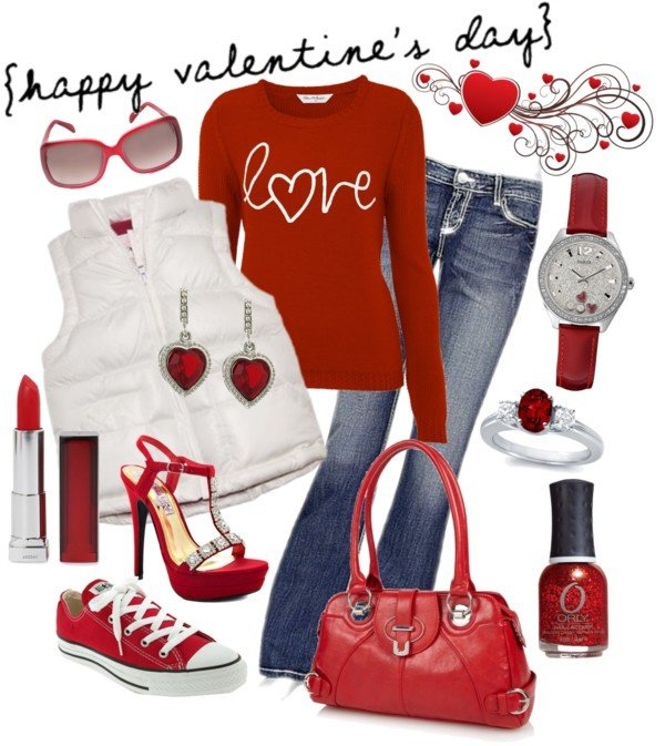 Cute Valentine's Outfit Idea