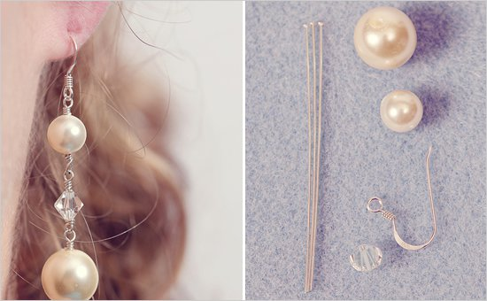 DIY Drop Pin Earring